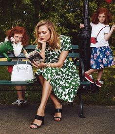 Karlie Kloss and Iris Apfel for Kate Spade - NEED TO FIND THESE SHOES