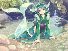 Safebooru is a anime and manga picture search engine, images are being updated hourly. Myths & Monsters, Anime Monsters, Anime Mermaid, Mermaid Art, Fantasy Creatures, Mythical Creatures, Anime Fantasy, Fantasy Art, Touhou Anime
