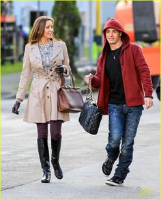 Katie Cassidy and Colton Haynes