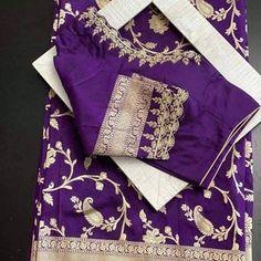 Wedding Saree Blouse Designs, Half Saree Designs, Silk Saree Blouse Designs, Silk Sarees, Traditional Blouse Designs, Kids Blouse Designs, Stylish Blouse Design, Designer Blouse Patterns, Work Blouse
