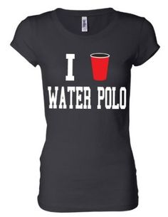 Juniors Black I Solo Cup Water Polo Short Sleeve Shirt S-XXL (Medium, Black) Activewear Apparel. $18.99