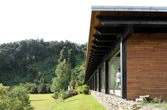 Casa en el lago Rupanco,© Luis Izquierdo