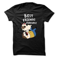 Pug Best Friends Forever