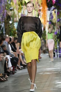 Dior Ready To Wear Christian Spring Summer 2014 Paris - NOWFASHION