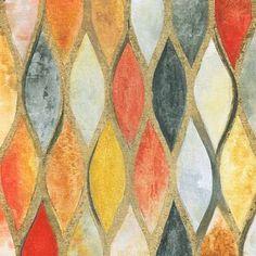 Teardrop Mosaic