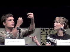 Jennifer Lawrence & Josh Hutcherson talk about kissing scene in Catchin Fire waaaaayyyyy funnier than I was expecting! Must watch!