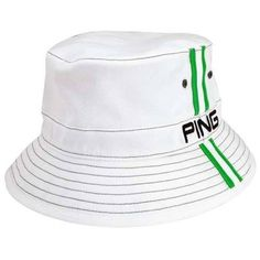 NO CHIN STRAP Ping Bucket Hat - This must be last seasons hat or something 045d9889a170