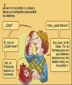 Enseñanza del Español: aprender y compartir.: Diálogos
