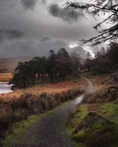 Snowdonia National Park, North Wales, Pathways, Britain, National Parks, Country Roads, Clouds, Beauty, Instagram