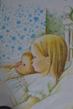 Bedtime sleepy girls - Eloise Wilkin by Kharis