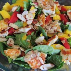 Mango, Haloumi and Rocket Salad @ allrecipes.com.au