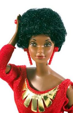 The first African American Barbie Doll