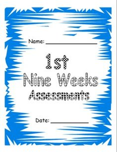 These Microsoft Word files include first grade assessments aligned to Common Core Standards as well as many additional assessments.  These assessments will be perfect for a check-list type report card!