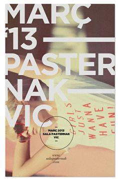 Flyer sala Pasternak | Flickr - Photo Sharing!