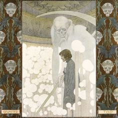 Snow White by Heinrich Lefler and Joseph Urban (1905) | Come Into My