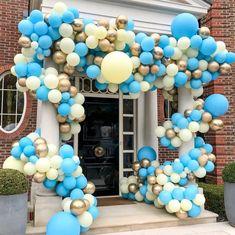 Blue Party Inspiration Bubblegum Balloons
