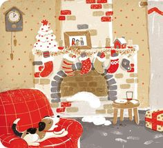 Christmas World, Old Fashioned Christmas, Christmas Art, All Things Christmas, Winter Christmas, Vintage Christmas, Xmas, New Year Illustration, Winter Illustration