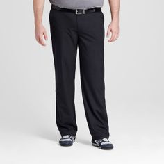 Men's Big & Tall Golf Pant - C9 Champion - Black 60x30, Ebony