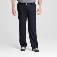 Men's Big & Tall Golf Pant - C9 Champion - Black 58x30, Ebony