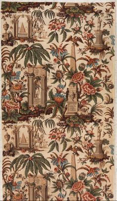 Lord Nelson commemorative textile Attributed to John Burg Date: 1806 Culture: British, Lancashire Medium: Cotton