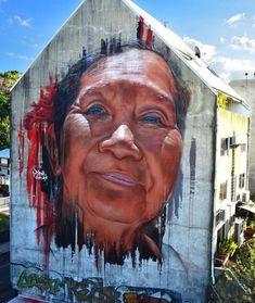 Mral by Adnate in Tahiti #streetart