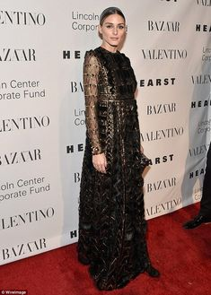 Olivia Palermo at An Evening Gala Honoring Valentino in Lincoln Center. The Olivia Palermo Lookbook