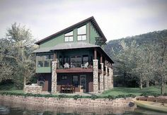 Dynamic Contemporary Home Plan - 31145D thumb - 01