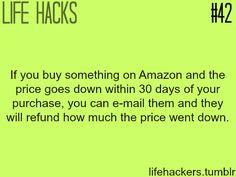 "Online shopping life hacks More life hacks at ""Life hackers"" ,Click here"