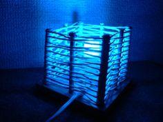 【写真有】個性派インテリア!布紐と木材で簡単に出来る手作りランプシェード