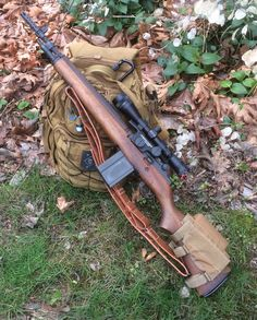 """My Springfield M1A Scout version w/ 18"""" barrel - classic, iconic look and love the wood furniture."""