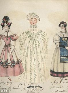 queen victorias dolls | ... Victoria's childhood including a colouring-book of paper dolls that