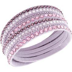 SWAROVSKI SLAKE PINK DELUXE BRACELET 5120639 | Duty Free Crystal