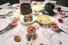 Chocolate Fondue, Free Food, A Food, Bbq, Menu, Yummy Food, Diet, Cooking, Desserts