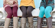 $ 4.99 fleece lined leggings! Stock up before they're gone!