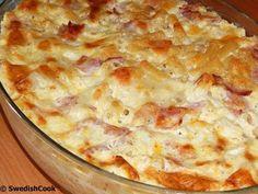 Το φαγητό της τεμπέλας... όταν η ζέστη χτυπάει κόκκινο ετοιμάστε ένα νόστιμο, γευστικό και γρήγορο φαγάκι για όλη την οικογένεια χωρίς πολύ... Greek Recipes, Real Food Recipes, Cooking Recipes, Yummy Food, Baked Pasta Dishes, The Kitchen Food Network, Greek Dishes, Baked Chicken Recipes, How To Cook Pasta