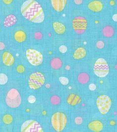 Eggcellent Prints Fabric Easter Egg Dot MultiEggcellent Prints Fabric Easter Egg Dot Multi,