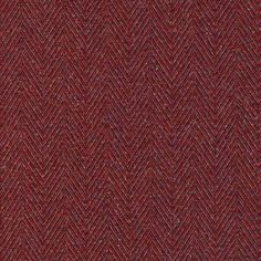 Bolzano Fabric A versatile woven fabric with a herringbone construction, shown in rich shades of red, orange and grey. The fabric has subtle bouclé qualities and recalls traditional weaving with its richness of effects and naturally uneven textures.