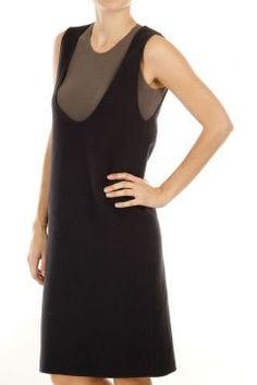 Virgin wool sleeveless dress by Martin Margiela
