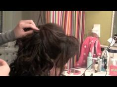 How To: A Beautiful Bridal/Formal Half Up Half Down Updo For Short Hair! (PART ONE)