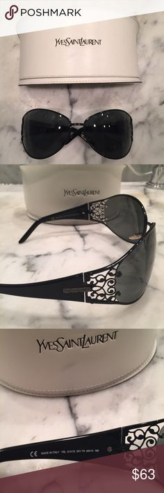 Yves Saint Laurent YSL sunglasses Yves Saint Laurent YSL sunglasses. Missing one nose piece. Easy to replace. Yves Saint Laurent Accessories Sunglasses