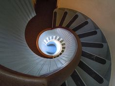 Spiral Staircase Point Loma Lighthouse. Here it is!