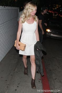 Kirsten Dunst at Chateau Marmont in West Hollywood, California - August 2, 2012