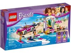 LEGO Friends Andrea's Speedboat Transporter 41316 - Box Image Lego Sets, Lego Friends Sets, Lego Clones, Lego Dc, Party Scene, Lego Disney, Speed Boats, Toys For Girls, Fisher Price