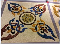 Southern Gentleman, pattern by Sindy Rodenmayer - quilting has begun 2 (Laila Nelson)