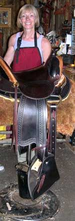 1904 McClellan US Army saddle. The model for the saddles ...