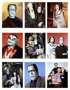 The Munsters. One happy family.