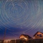 Star Trails de decembrie! Star Trails, Waves, Stars, Night, Outdoor, Outdoors, Sterne, Outdoor Games, Outdoor Living