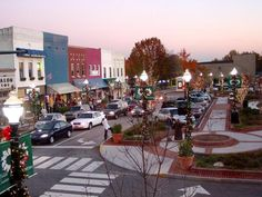 The square in Gainesville now