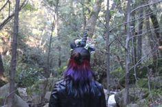 Unicorn Hair. Hidden layer.