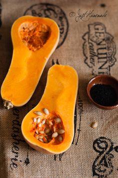 Butternut squash - winter tastes, soup, so yum Cut Butternut Squash, Nigella Seeds, Food Photography Styling, Food Styling, Fruits And Veggies, Fresh Vegetables, Fresh Fruit, Food Art, Whole Food Recipes